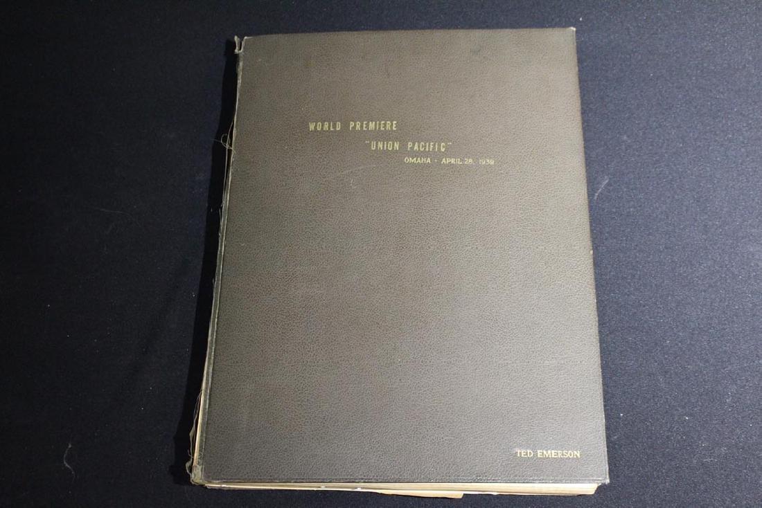 """""""UNION PACIFIC' Premiere Book"""