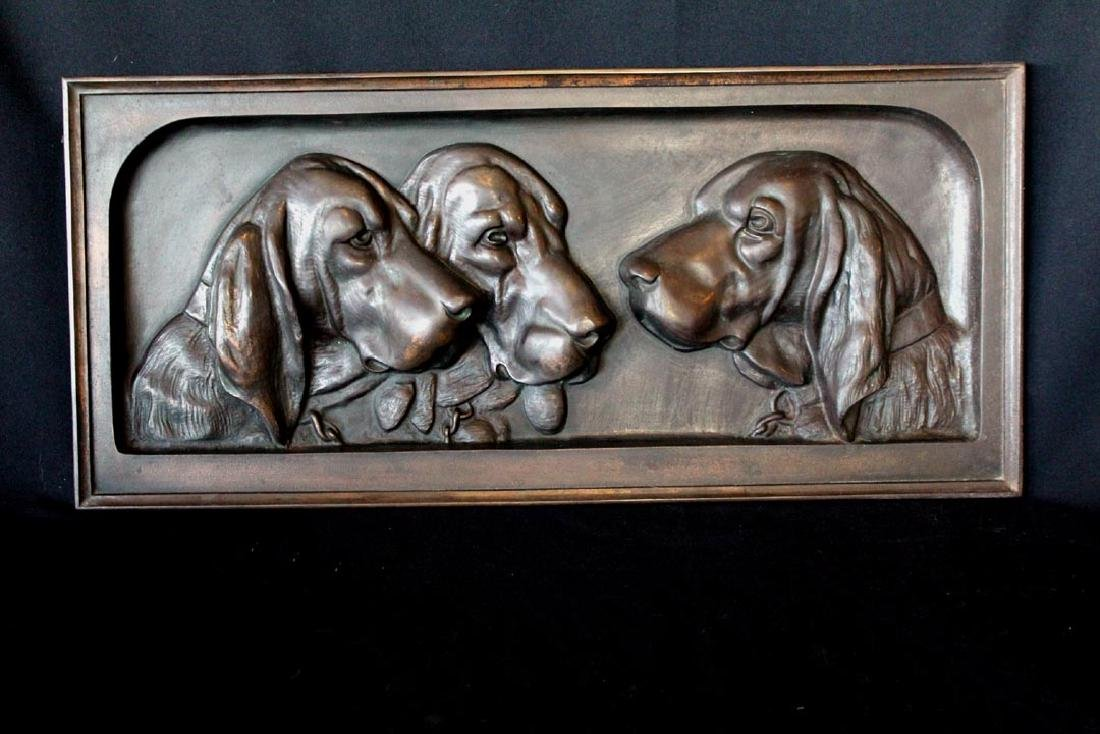 Iron Bloodhound Plaque