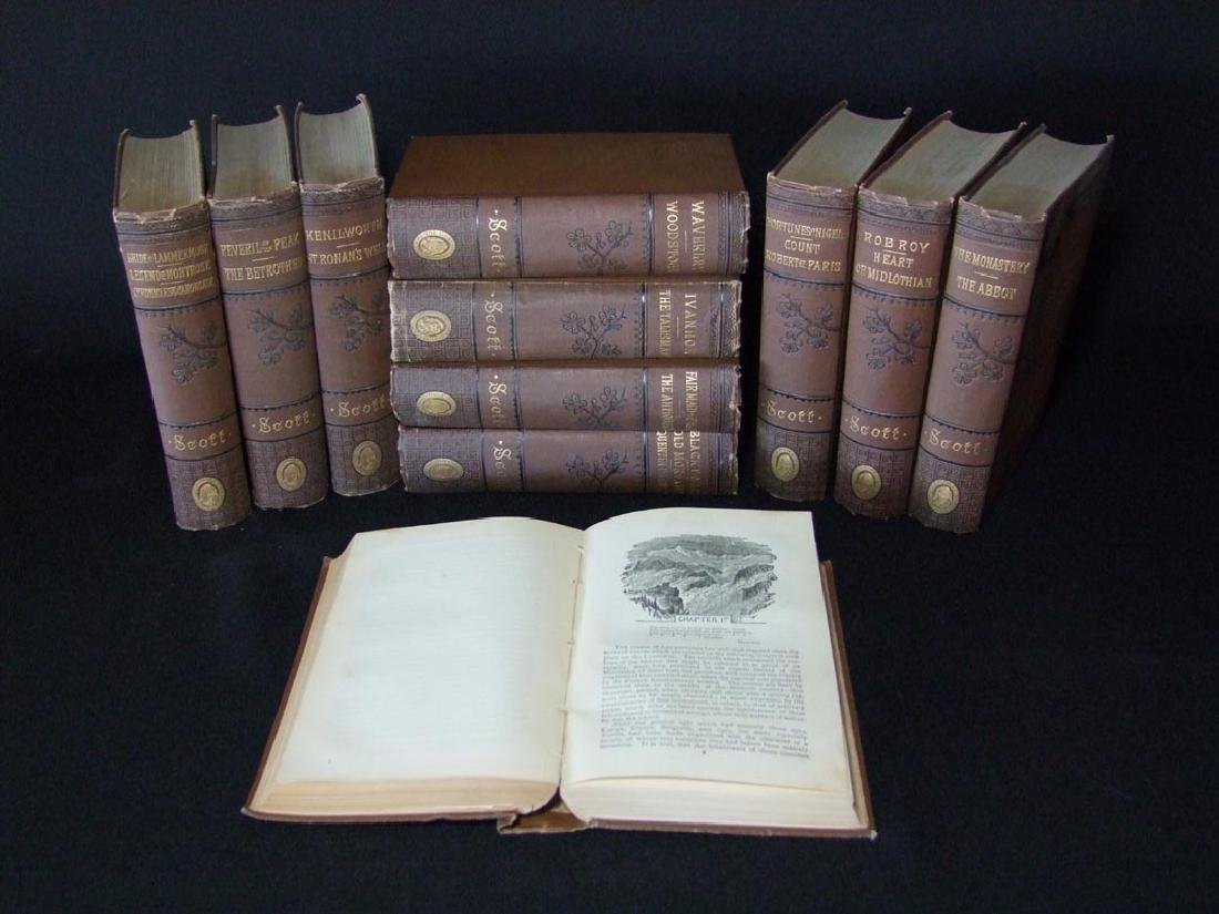 1883 WAVERLY NOVELS By Sir Walter Scott