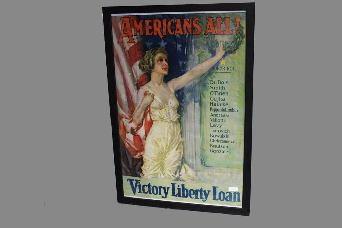 Howard Chandler Christy 1917 WWI Poster