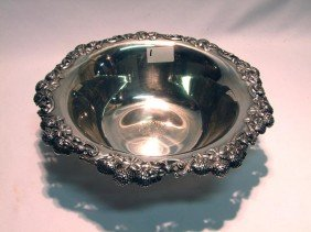 1: Sterling Tiffany Clover Bowl
