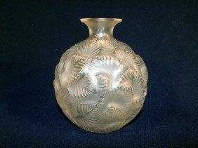 R. Lalique No. 984 Ormeaux Vase