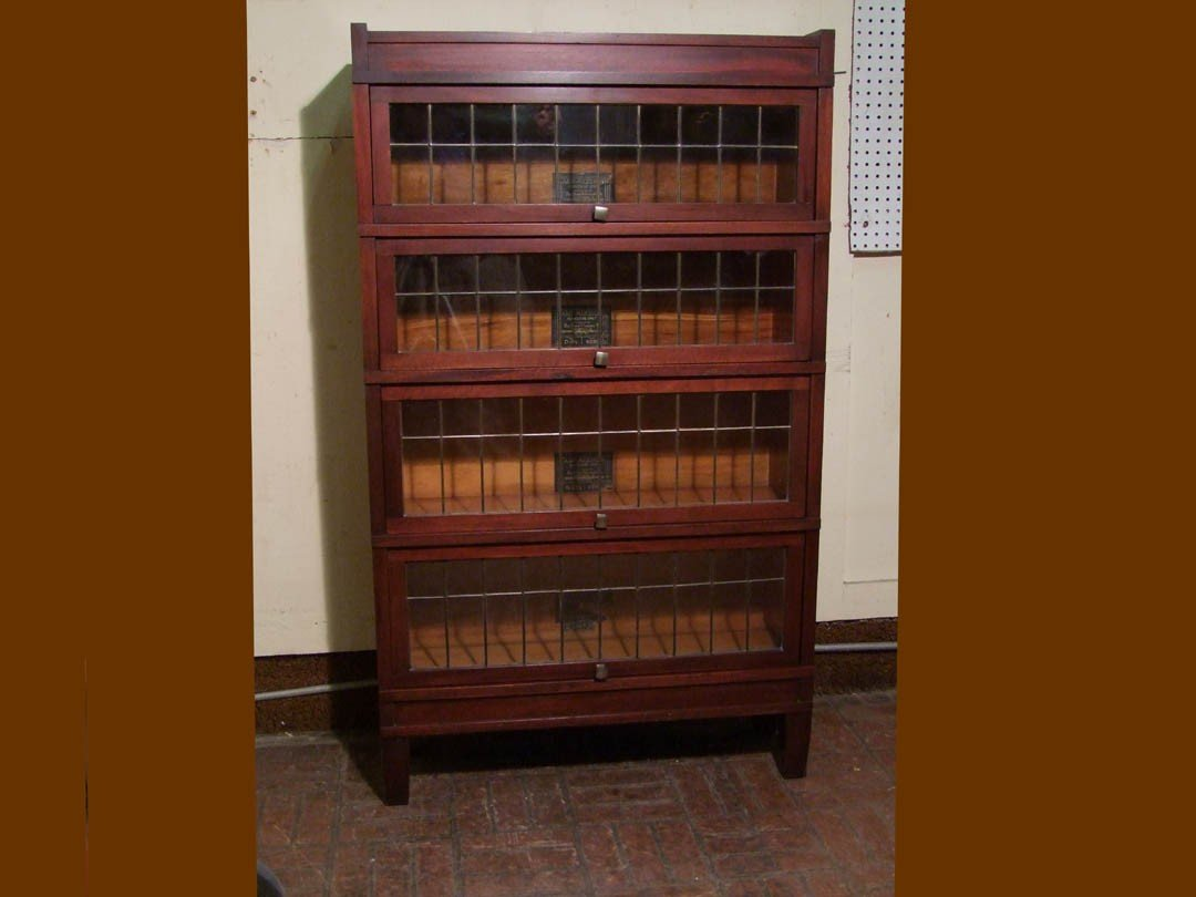 "20: Mahogany ""Art-Mission"" Sectional Bookcase"