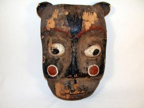 1900-1910 North Coast Ceremonial Mask