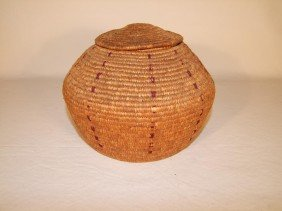 Late 1800s - Early 1900s Native Alaskan Basket