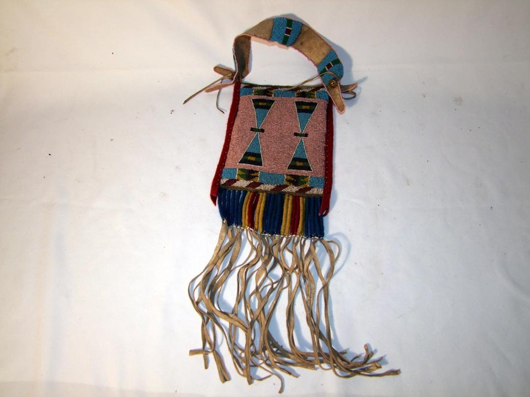 123: Nez Perce Beaded Bag
