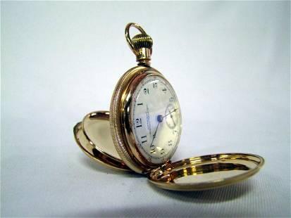 148: 14K Gold American Waltham Watch Co. Pocket Watch