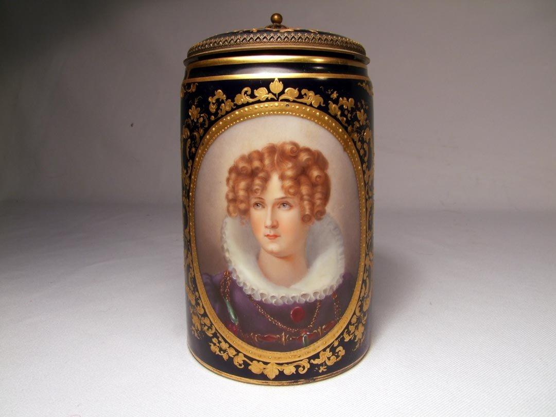 5: Royal Vienna Portrait Stein
