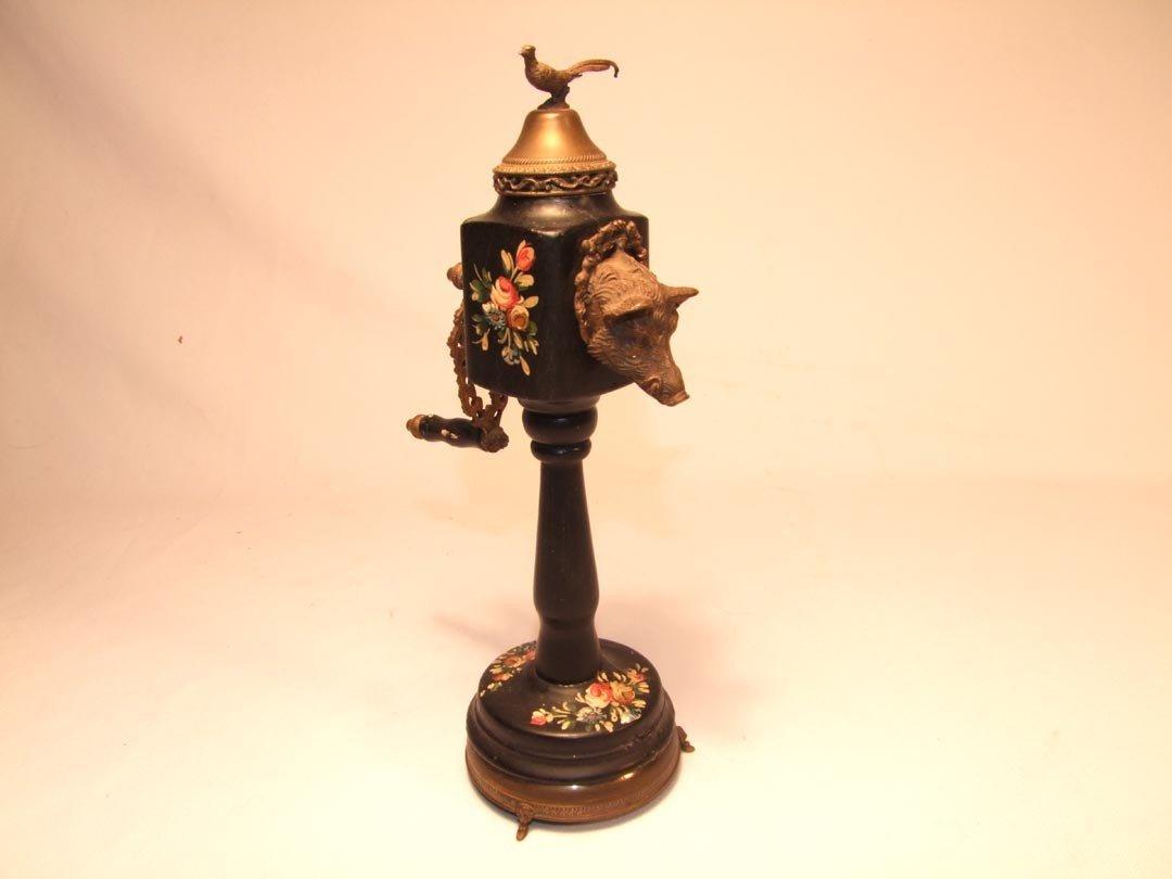 6: Mid-19th Century Figural Nutmeg Grinder