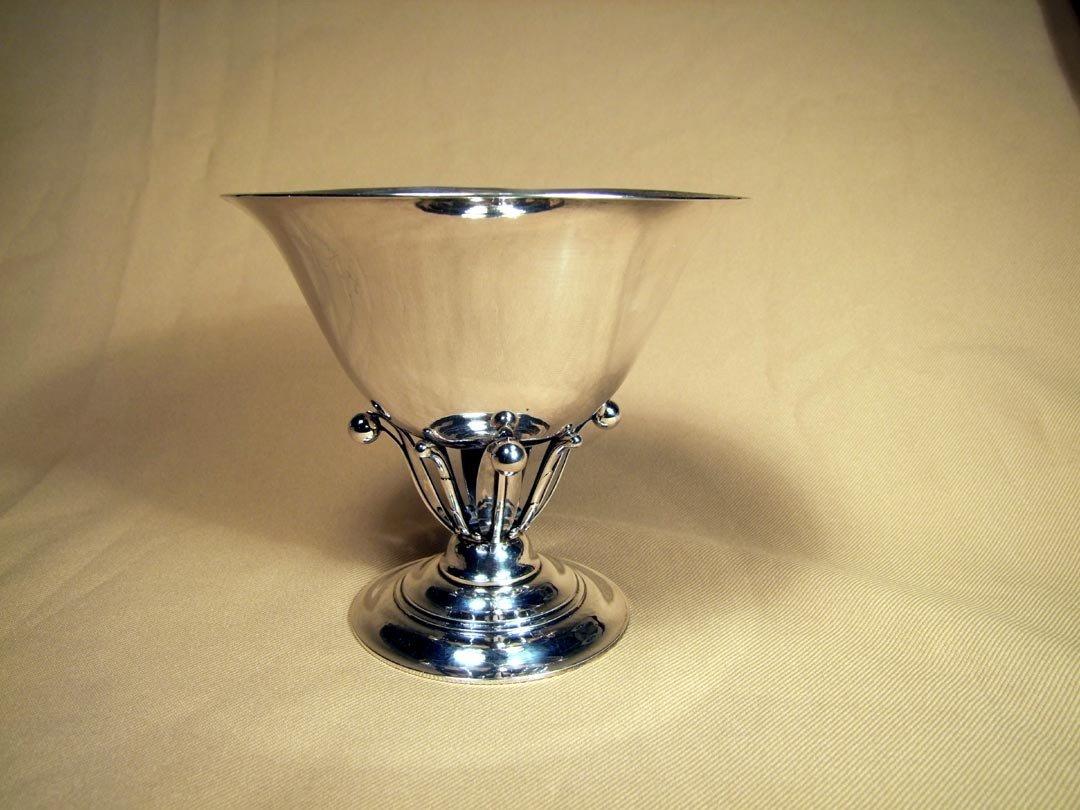 10A: Art Deco George Jensen Sterling Bowl
