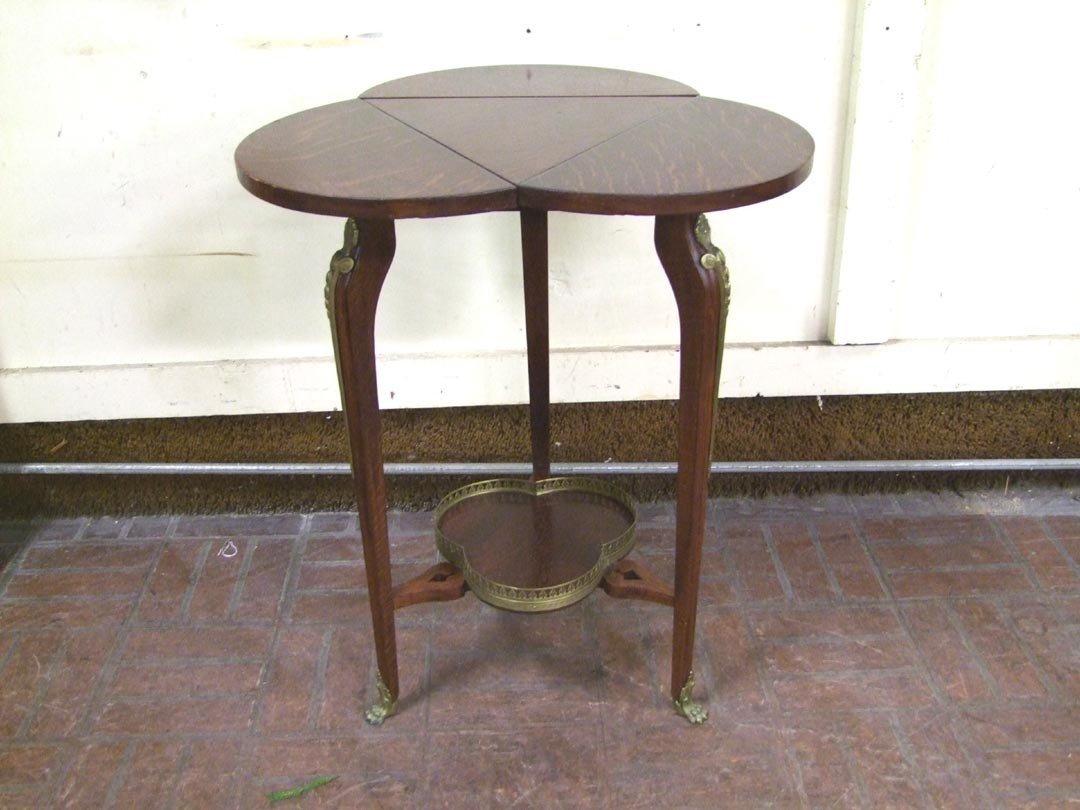 13: Quarter Sawn Oak Corner Table