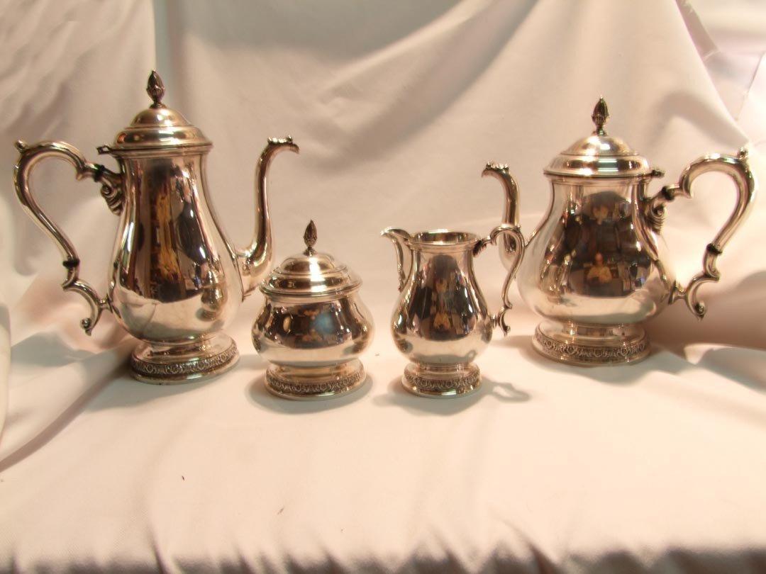 16: International Prelude Sterling Tea And Coffee Servi