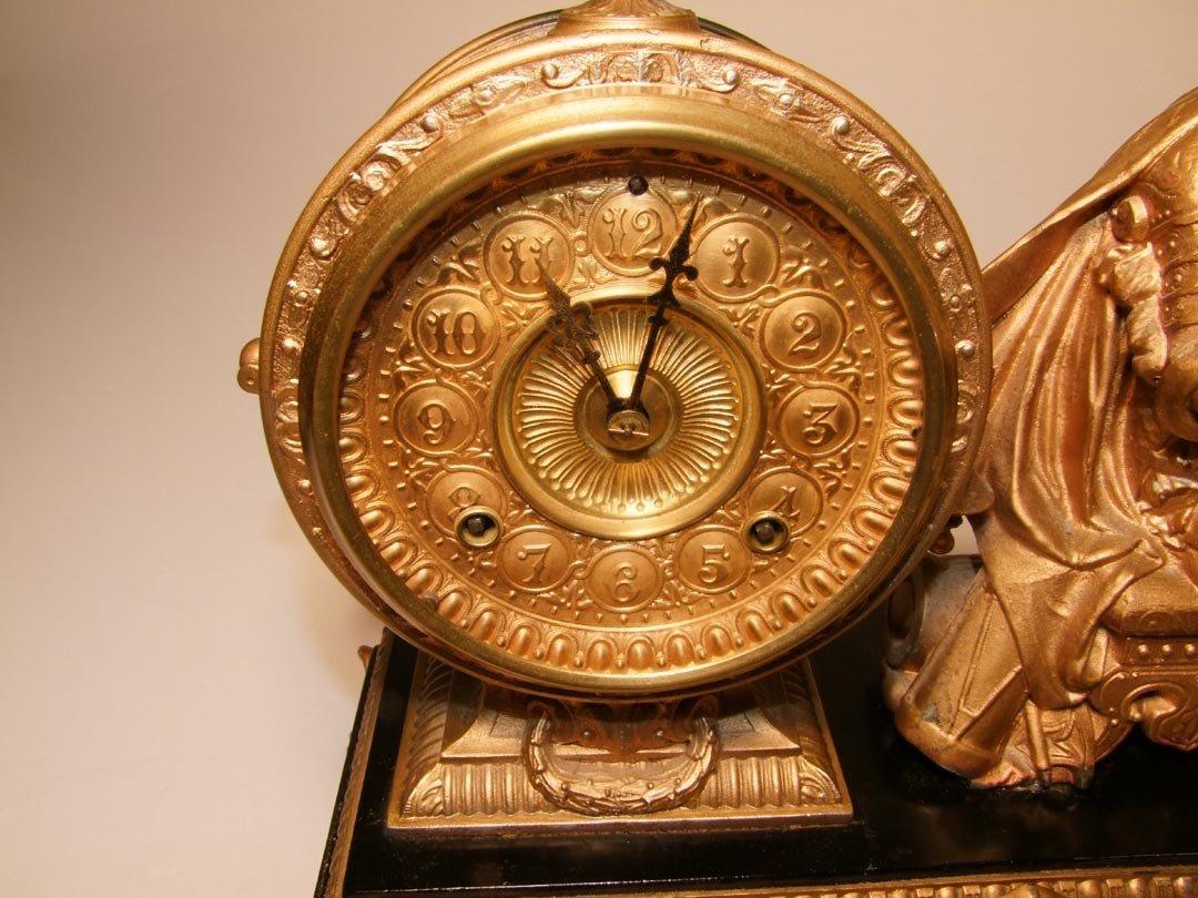 3: Ansonia Figural Clock - 2