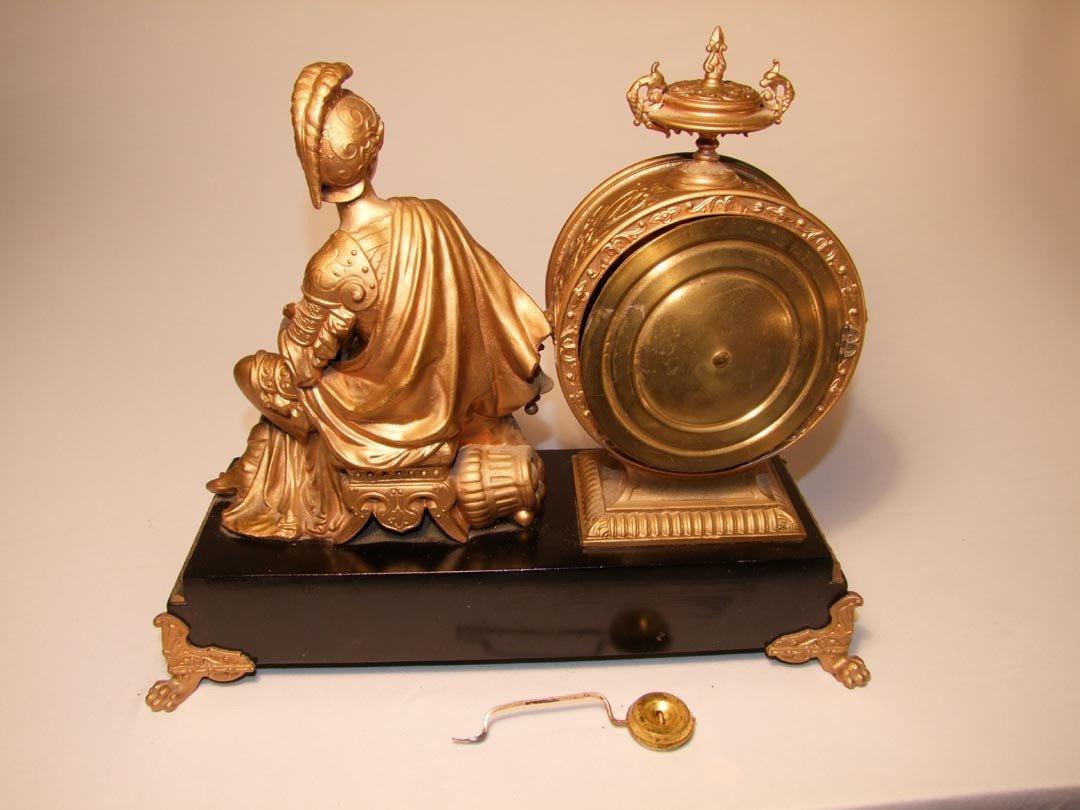 3: Ansonia Figural Clock - 4