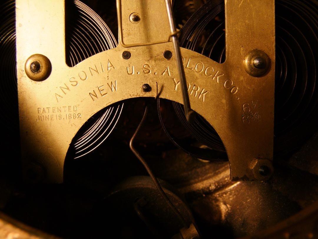 3: Ansonia Figural Clock - 5