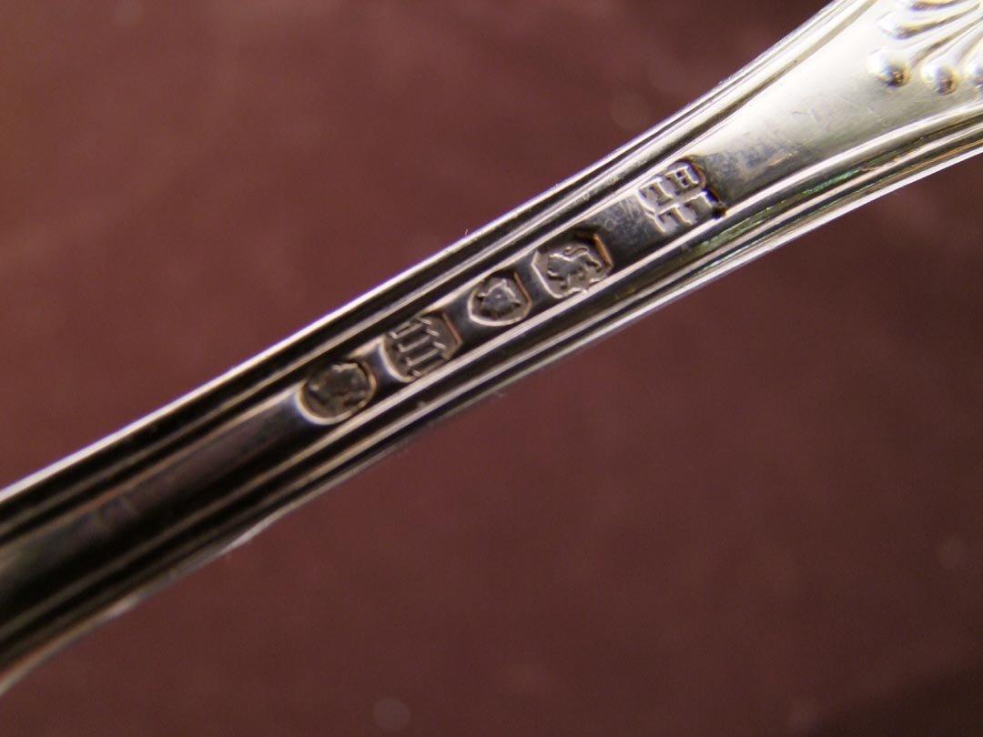 47: John, Henry Lias English Sterling Spoon - 4