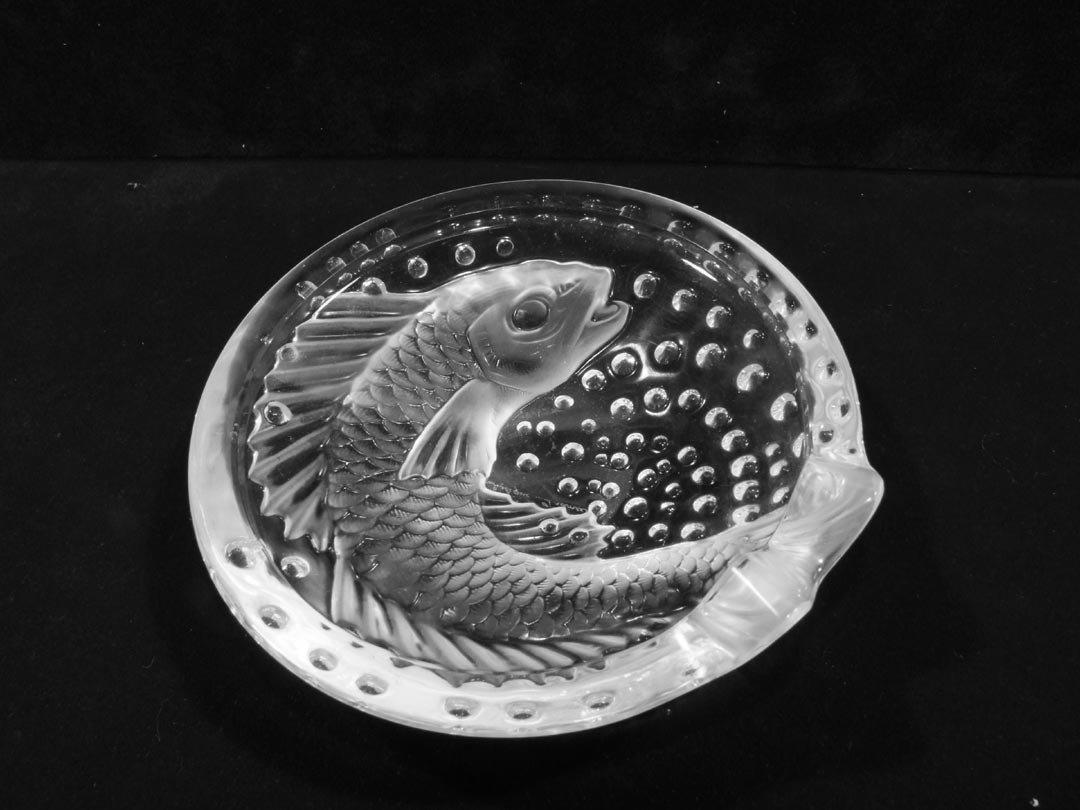 "167: Lalique ""Concarneau"" Ashtray"