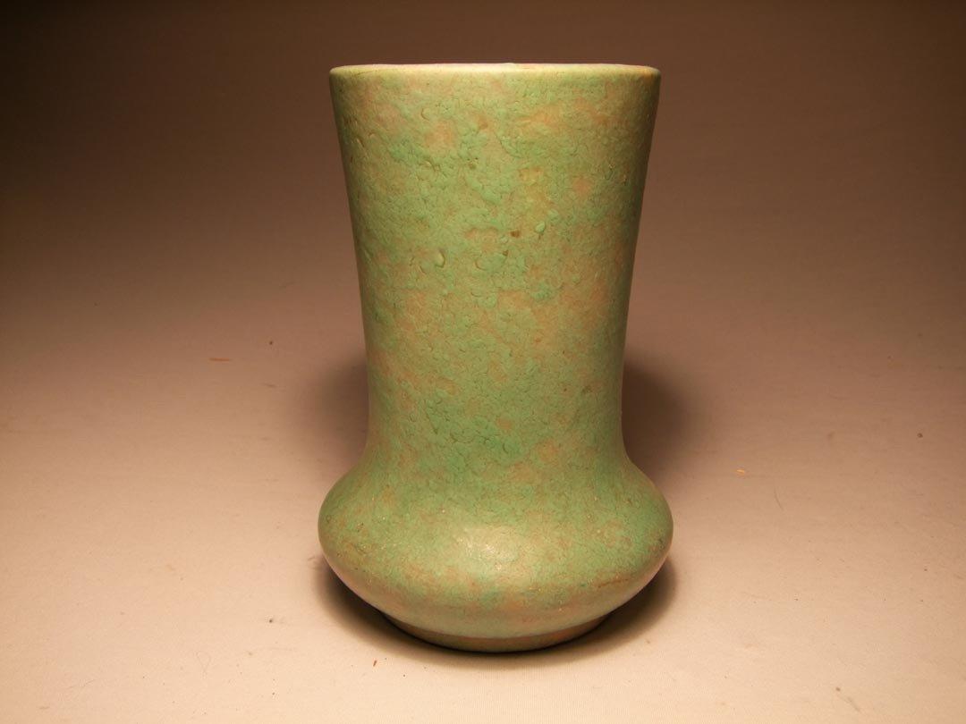 116: Roseville Carnelian Vase