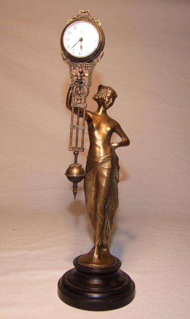 2: Art Deco Junghans Swinger Clock
