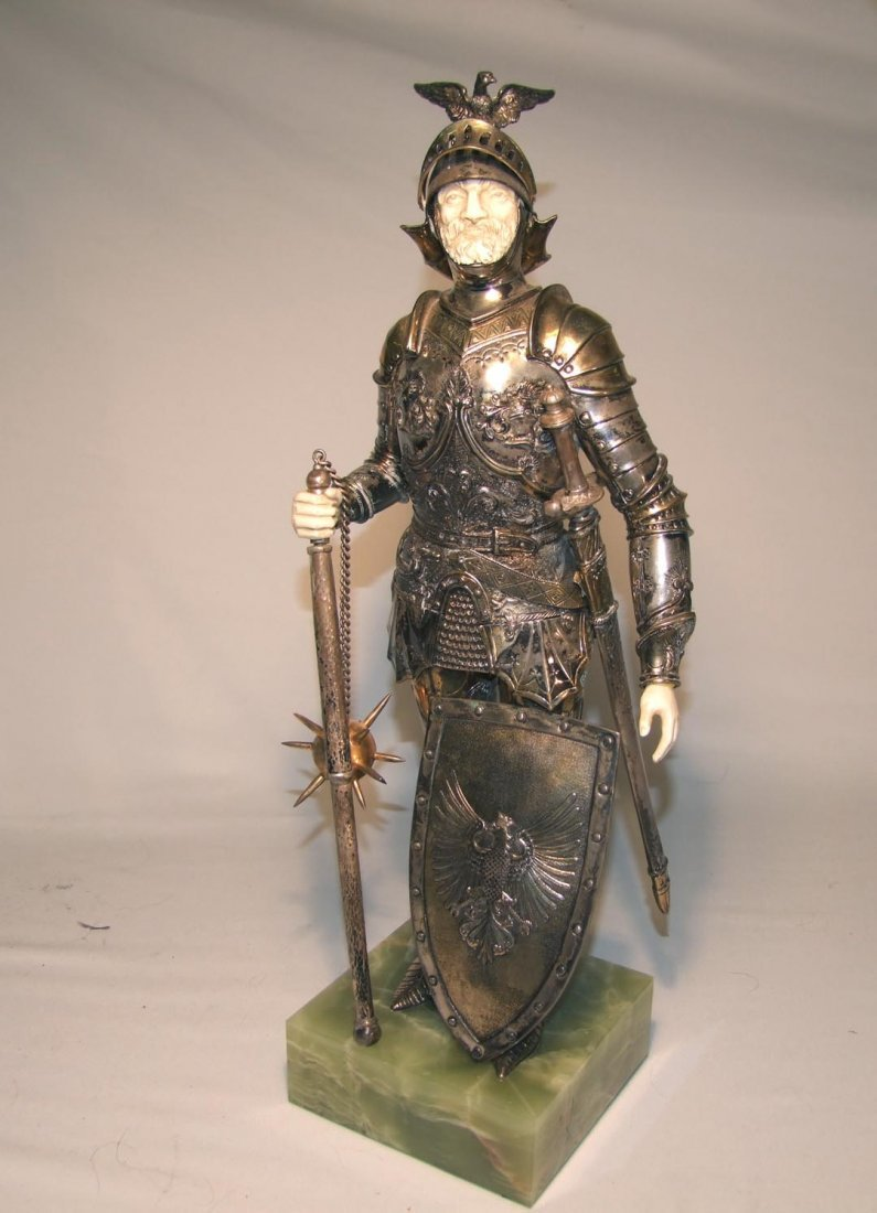 Knight With Sterling Armor