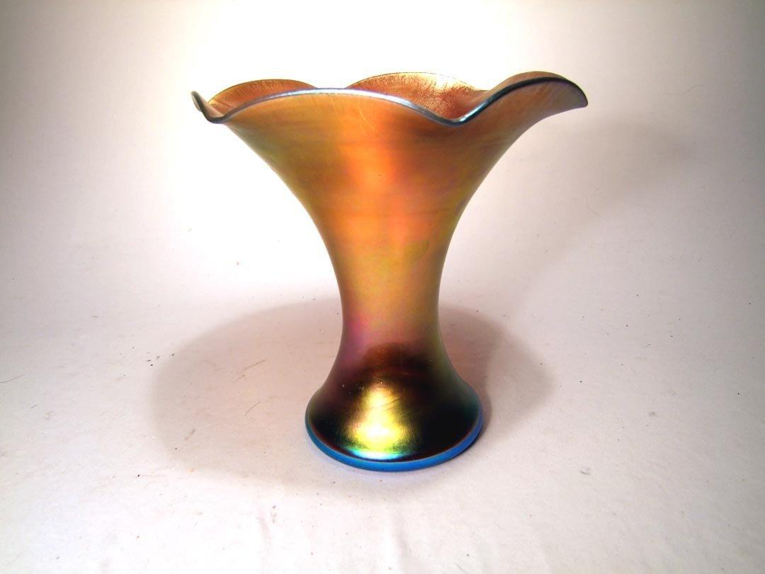 9: Steuben Aurene Vase
