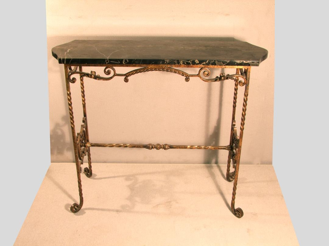 22: Art Deco Brandt Style Table