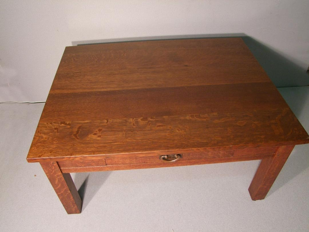 121: Stickley Table Reduced To Coffee Table