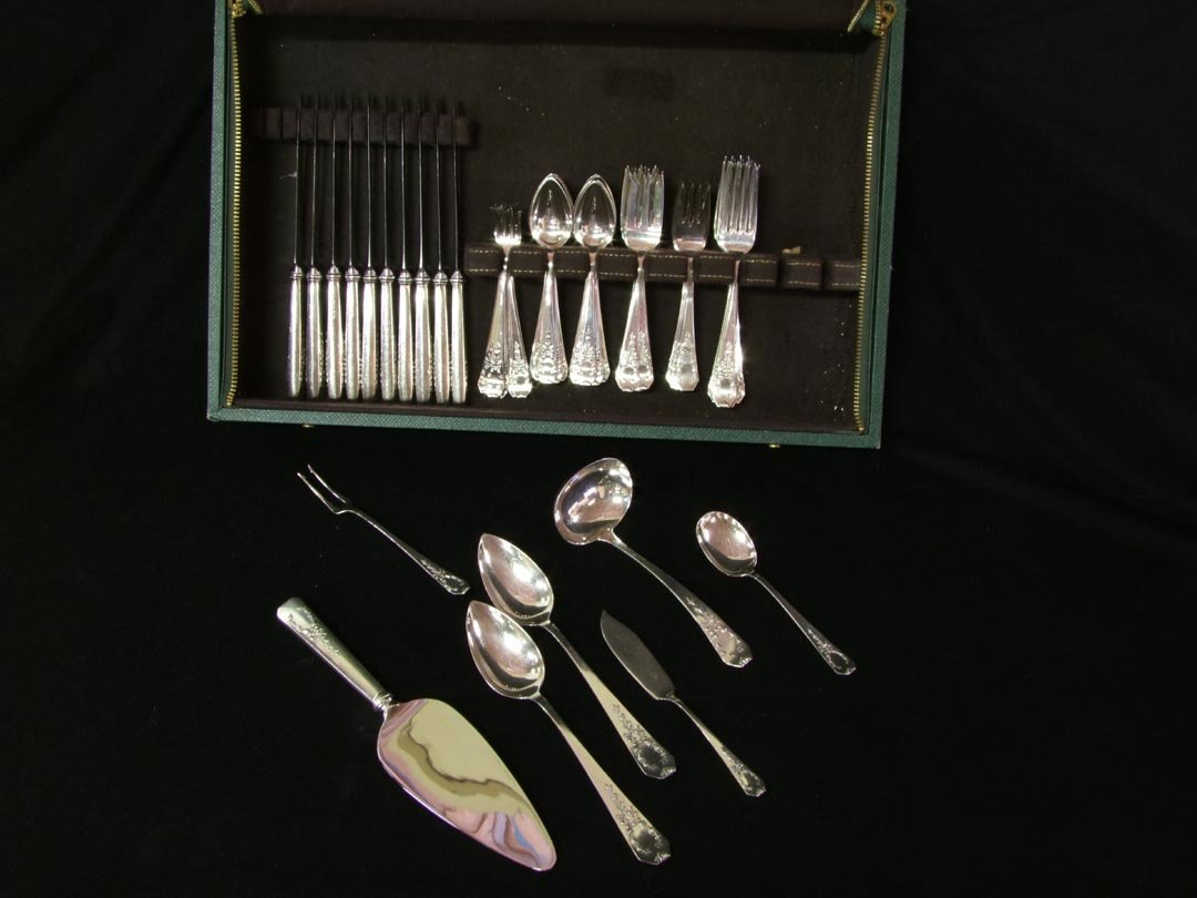 10: 73 Pieces Sterling Madame Jumel