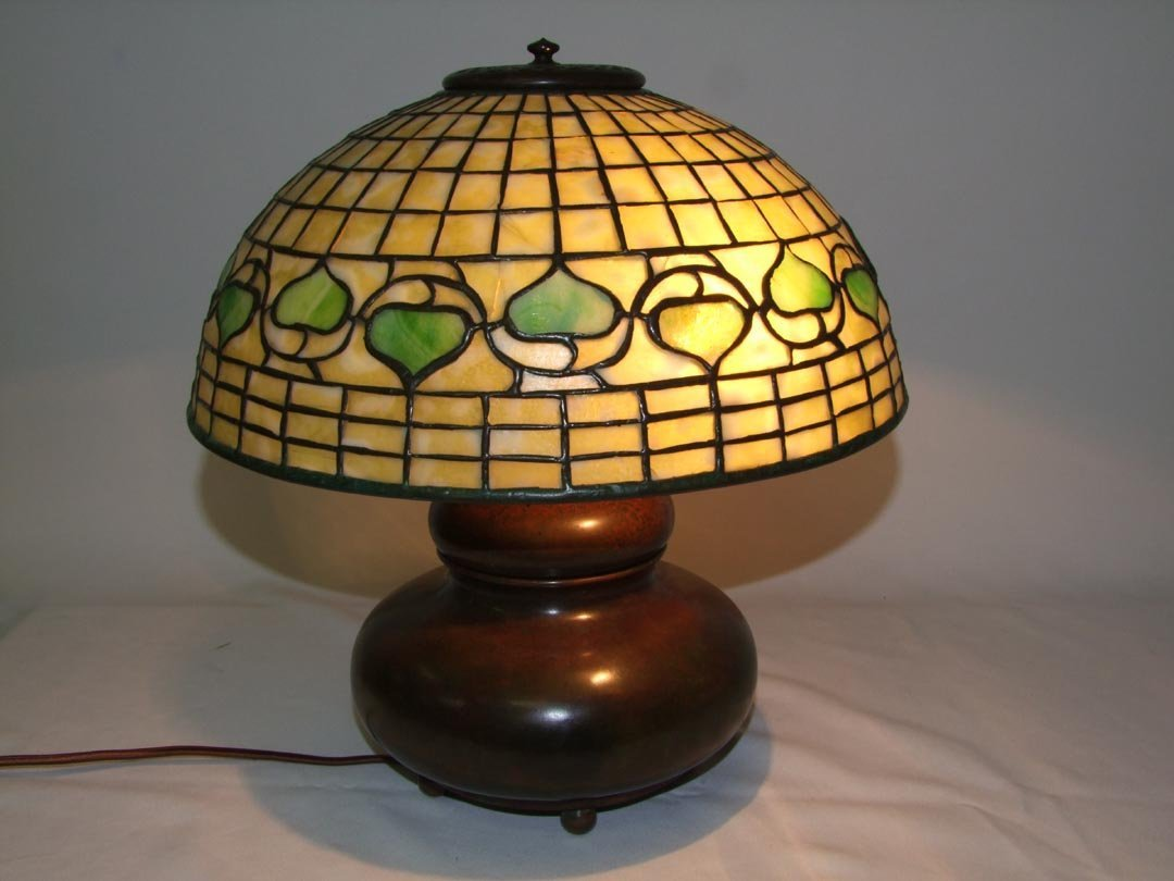21: Tiffany Leaf And Vine Table Lamp