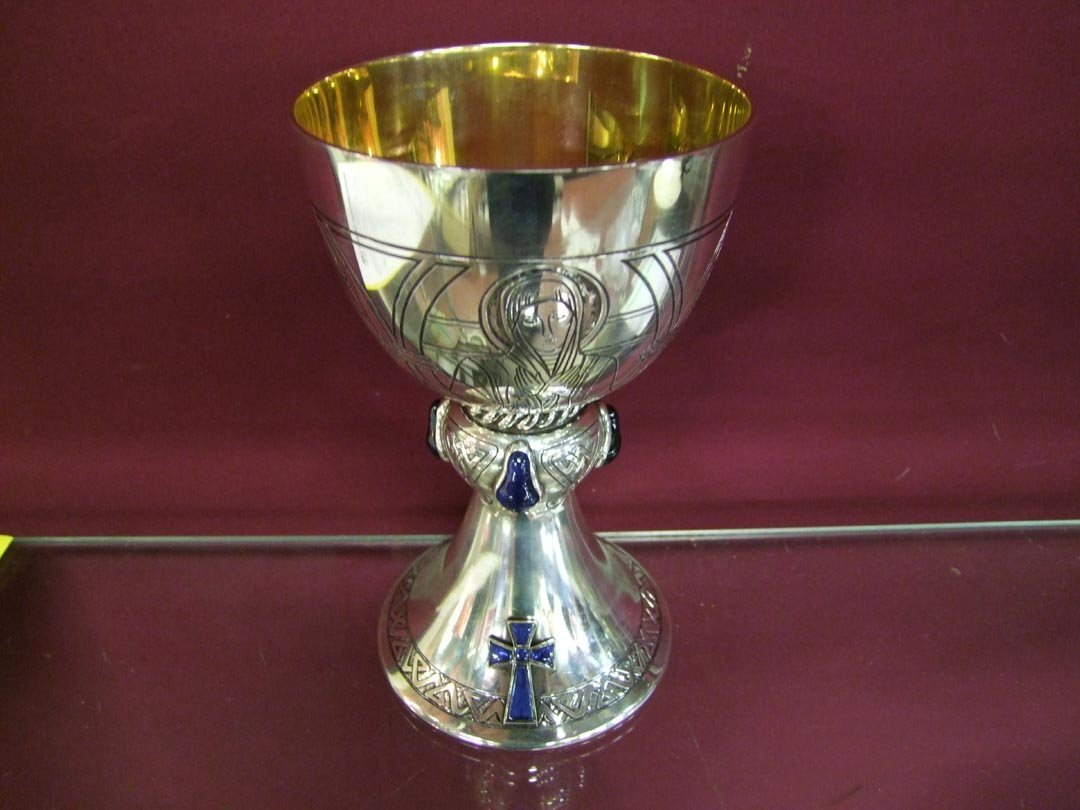 23: Sterling Silver Chalice