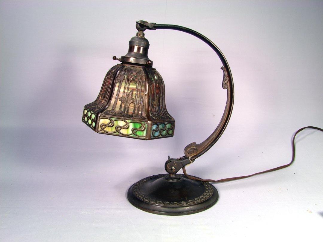 7: Signed Handel Desk Lamp