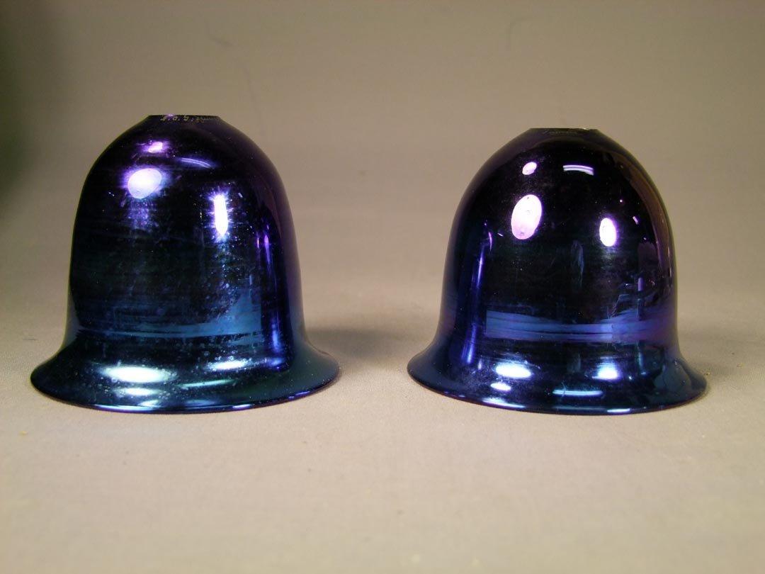 11: 2 Tiffany Gas Light Shades