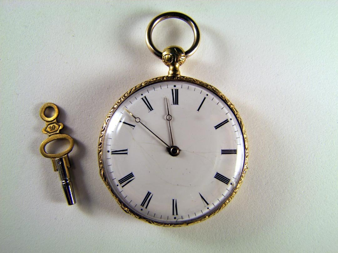 15: 18K Gold Repeater Key Wind Pocket Watch