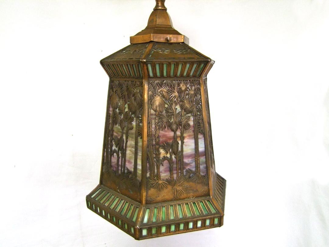 Handel Tropical Pattern Hall Light
