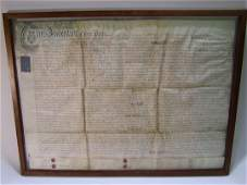 Hand Written 1761 English Document