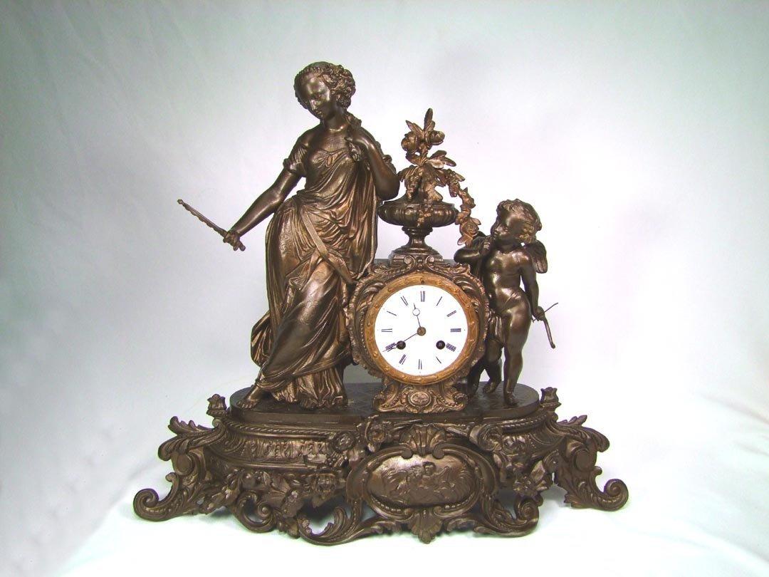 Figural L. Japy Fils Clock