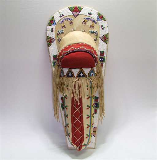 Native American Beaded Cradle Board