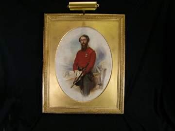 Portrait Painting By Adam Buck (1759 - 1833)