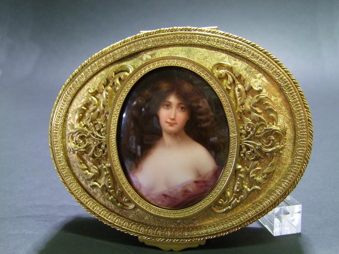 Jewelry Box With Portrait