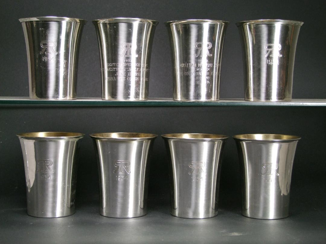 Sterling Roosevelt Raceway Cups