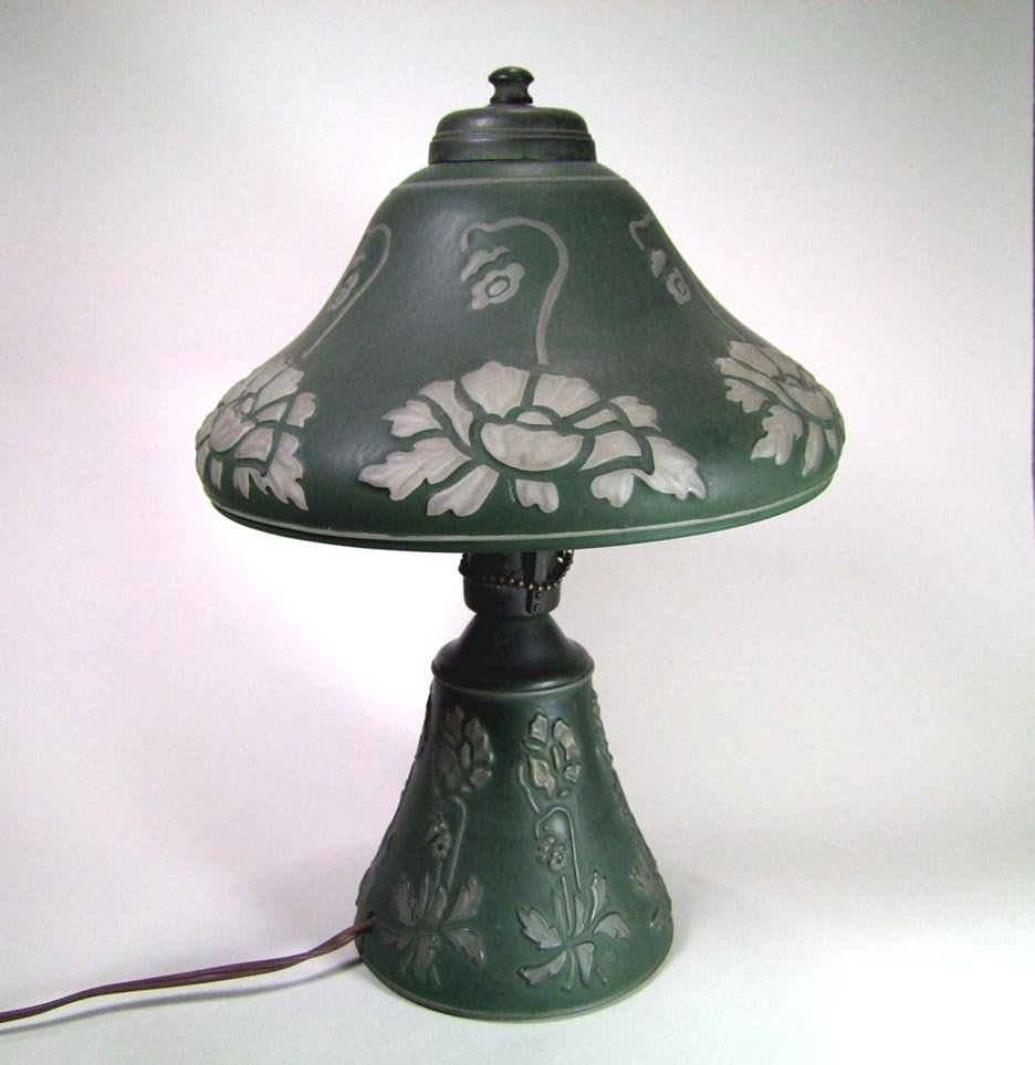 Consolidated Glass Lamp