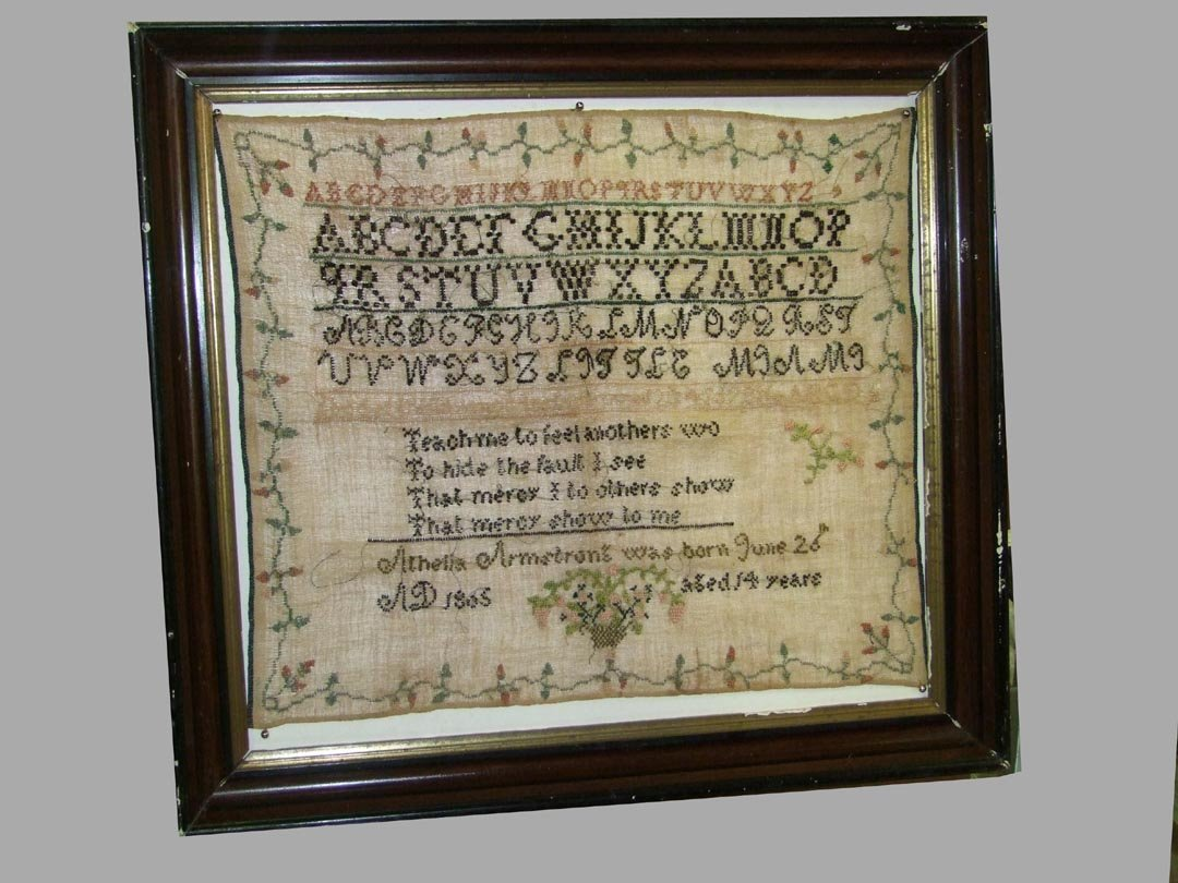 Early 19th Century Sampler