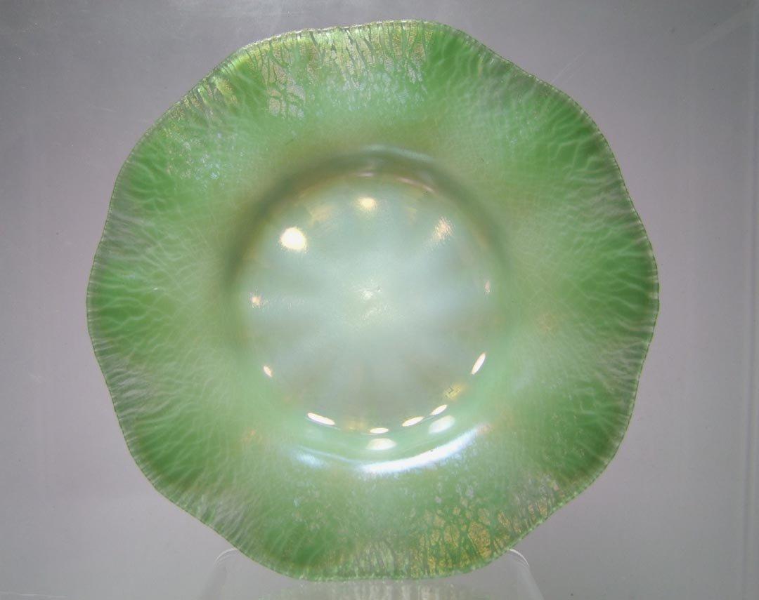 Tiffany Green Pastel Plate