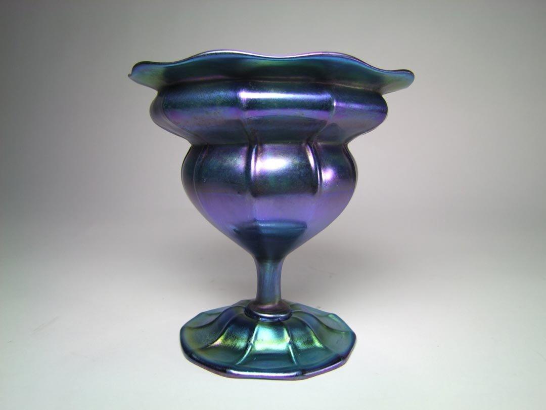 Tiffany Flower Form Vase