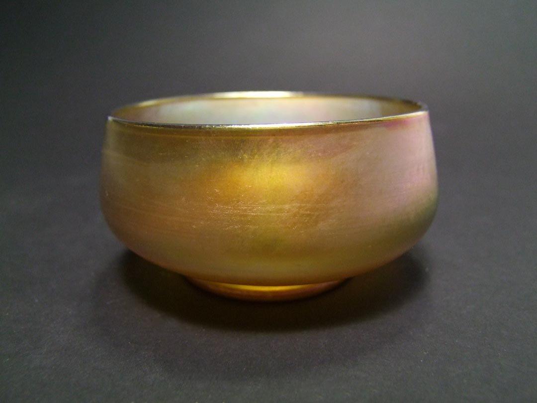 Tiffany Gold Bowl