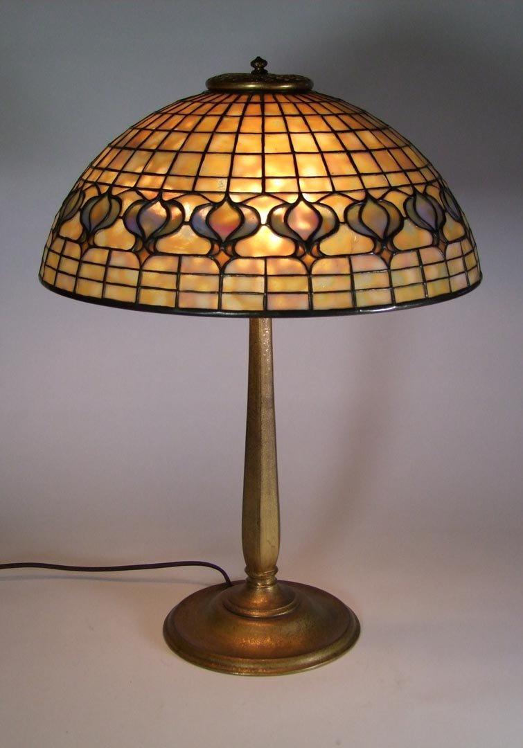 Tiffany Pomegranate Lamp