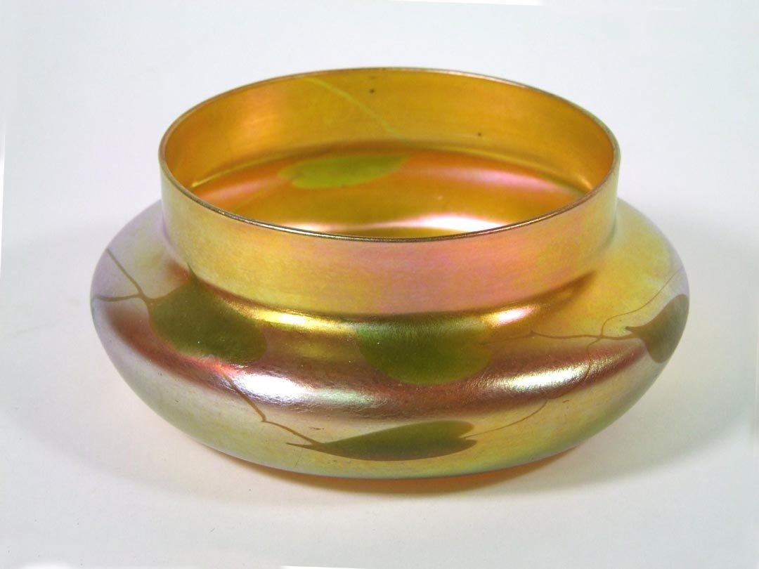 Tiffany Leaf & Vine Bowl