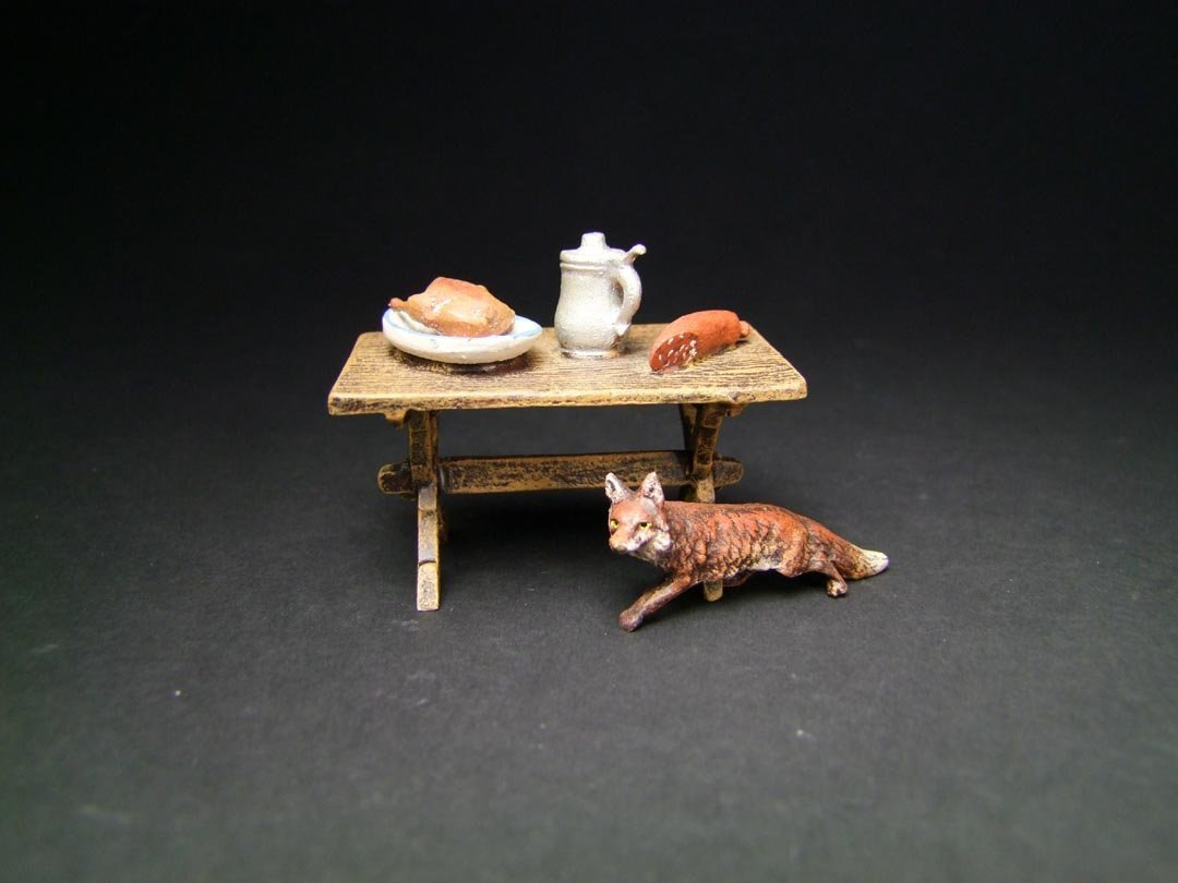 Miniature Vienna Bronze