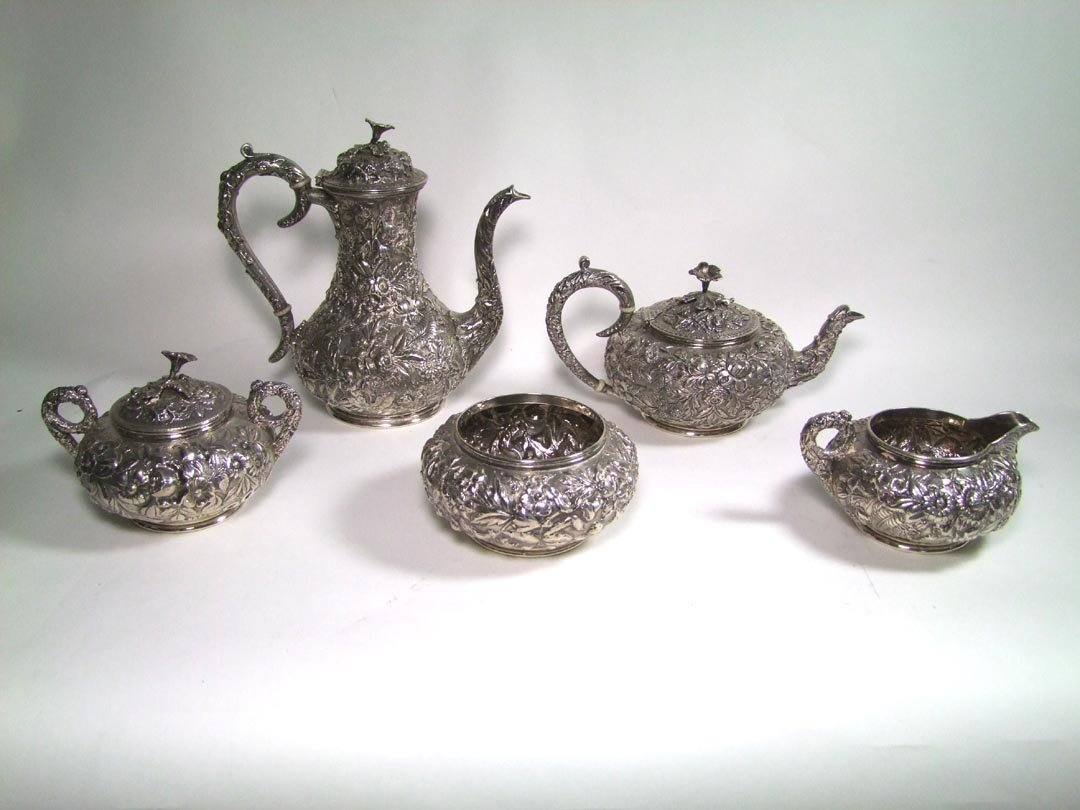 Kirk Repousse Sterling Set