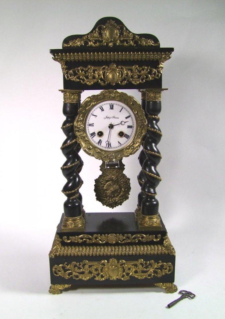 Japy Freres Portico Clock